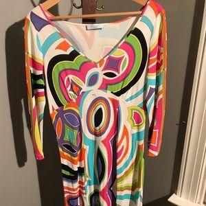 Emilio Pucci Designer Knit Dress Medium